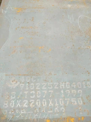40Cr Alloy Steel Plate JIS  Scr440 ASTM 5140 DIN1.7045 Steel Plate Cutting