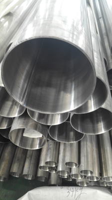 ASTM A544 TP304 Stainless Steel Tube Polished Outside 180 grits50.8*1.5mm*6000mm